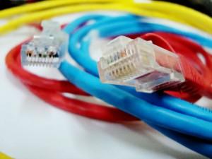 red por cables